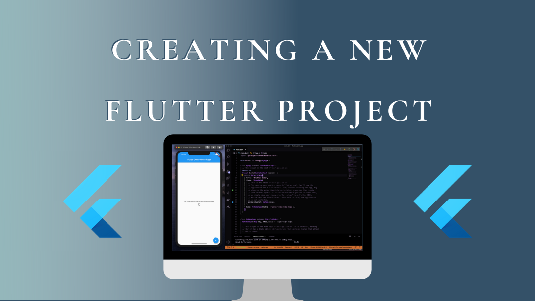 Creating a new Flutter project